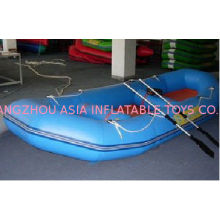 Inflatable Sports Boat With One Pair Of Two - Piece Aluminum Anodized Oars